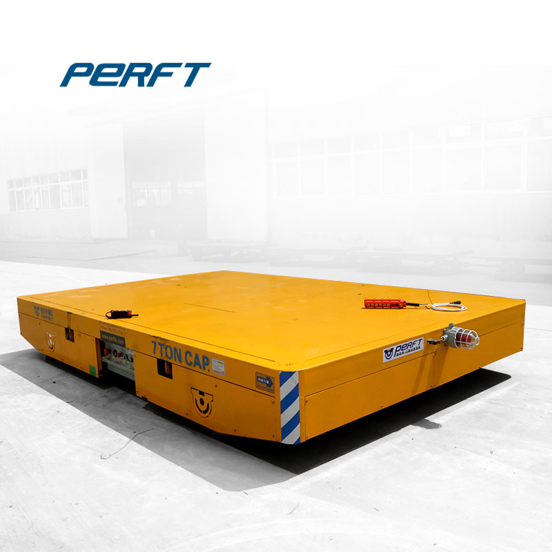 Large tonnage automatic guided vehicle transfer trolley ,  transfer trolley for mining industry