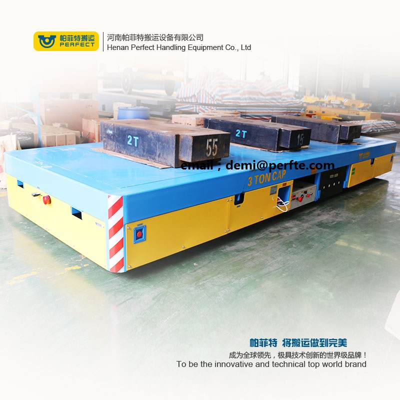 electric material handling transfer vehicle