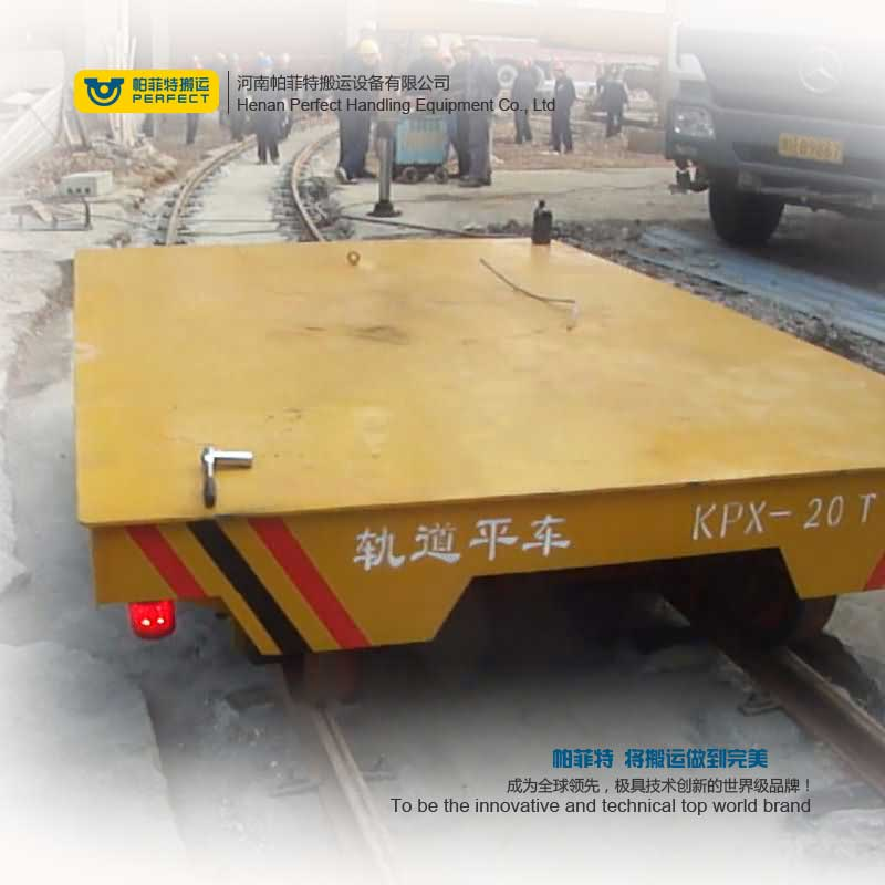 Rail Transfer Flat Cart , Rail Transfer Flat Cart  for Heavy Load Cargo Transport