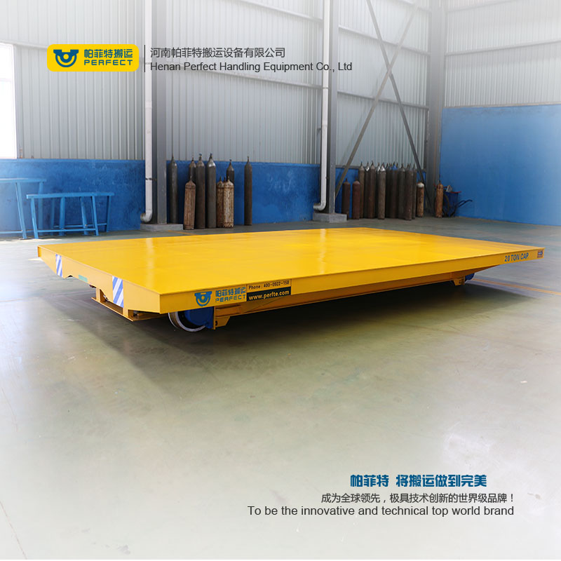 25t Steel Plant Transfer Cars , Chemical Raw Materials Transport